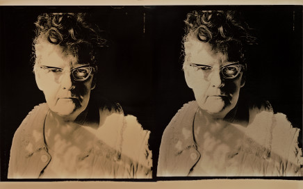 Phil Bergerson, Untitled (Mother diptych: Jean with swath of light), Toronto, Ontario, 1971