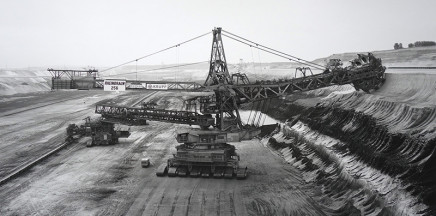 Claudia Fährenkemper, Shovel Wheel Excavator 256, Lignite Mine, Garzweiler, Germany, 1991