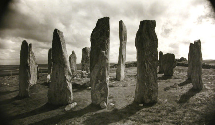 Dick Arentz, Callanish I, from North, Isle of Lewis, Scotland, 1990