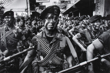 Larry Towell, Guatemala City, Guatemala, 1988