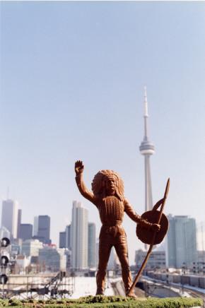 Jeff Thomas, Peace Chief, Tower, Toronto, Ontario, 2004
