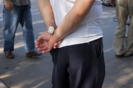Scott Conarroe, Thumb Wrap, Beijing, 2012