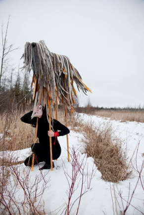 Meryl McMaster, Keeper's Crossing, 2015