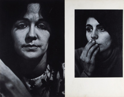 Dave Heath, Emilia Hazilitt and Barbara Freed, 1962