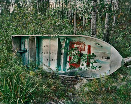 Joseph Hartman, Boat in Woods, Collins, ON, 2010