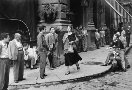 Ruth Orkin, American Girl in Italy, Florence, 1951