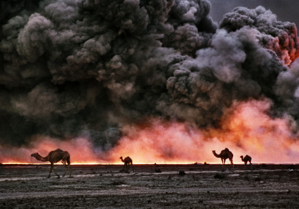 Bruno Barbey, Burgan oil fields, Kuwait, 1991