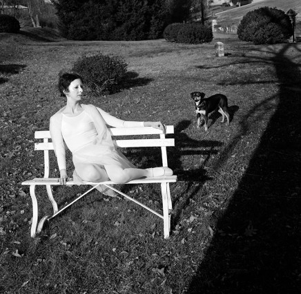 Rosalind Fox Solomon, Chattanooga, Tennessee [White Sadness (Becky in the Cemetery)], 1976