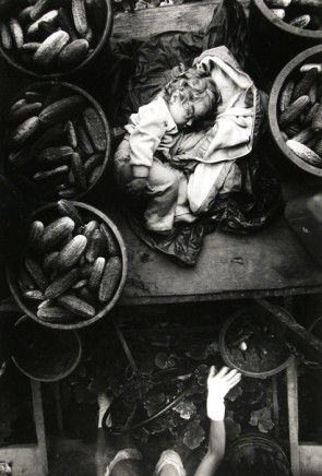Larry Towell, Kent County, Ontario [Cucumber Baby], 1996
