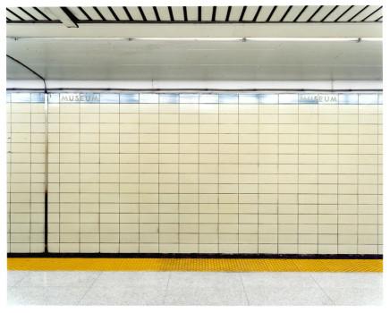 Vid Ingelevics, Untitled [Museum subway platform], 2003