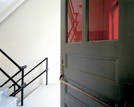 Robert Burley, Entrance to Cutting Rooms, Building 10, Kodak Canada, Toronto, 2005