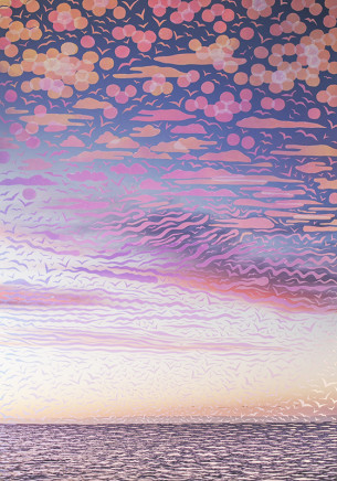 Sarah Anne Johnson, Pink and Blue Sky, 2018