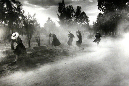Larry Towell, Dust Storm, Durango Colony, Durango, Mexico, 1994