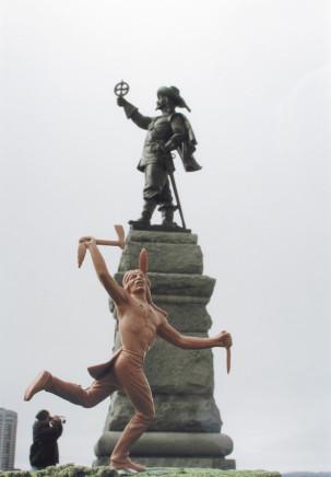 Buffalo Dancer at the Samuel de Champlain Monument, Ottawa, #4