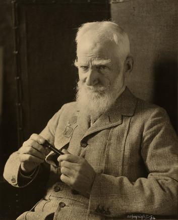 Violet Keene Perinchief, George Bernard Shaw, circa 1920