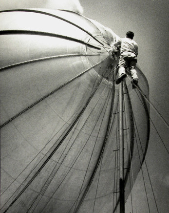 Harry Waddle, Blimpman, circa 1947