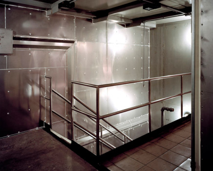 Robert Burley, Stairwell in Drying Rooms, Kodak Canada, Toronto, 2005