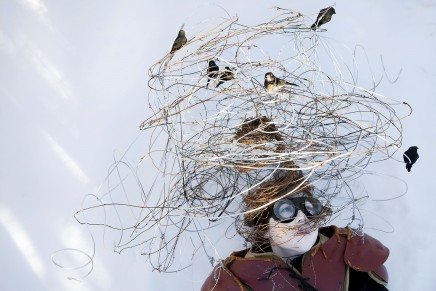 Meryl McMaster, Harbinger of Sudden Departures, Variation II, 2015