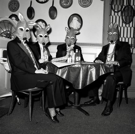 Rosalind Fox Solomon, New Orleans, Louisiana [Foxes Masquerade, Mardi Gras], 1992
