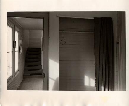 Douglas Clark, Untitled [closet/hanger/stairs], circa 1980