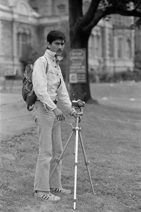 Sunil Gupta, Sunil with Camera, circa 1975