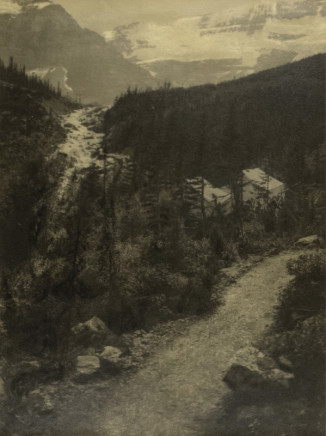Minna Keene, Rockies, circa 1914