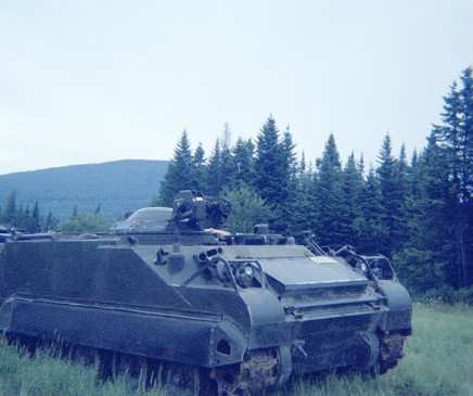 Sunil Gupta, Tank, Canadian Forces Base Valcartier, circa 1971