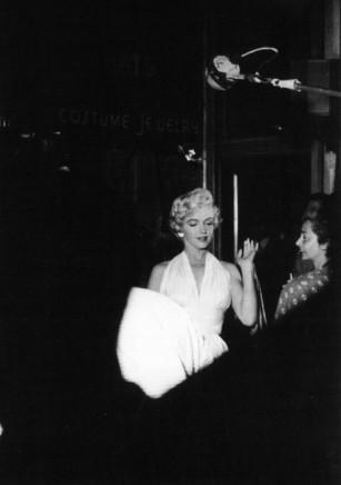 George S. Zimbel, Marilyn Monroe, NYC, 1954