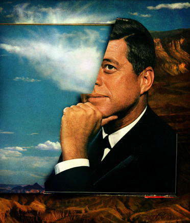 Peter Horvath, Untitled (John F. Kennedy), 2017