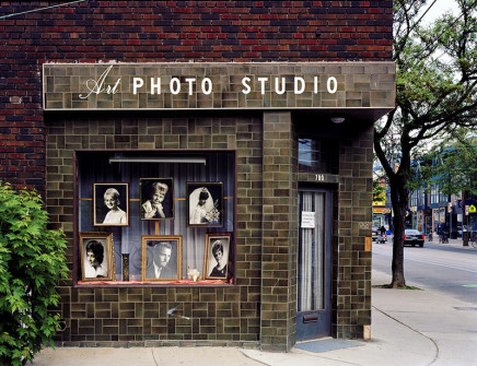 Robert Burley, Art Photo Studio: Closed Due to Retirement, Toronto, Ontario, 2005