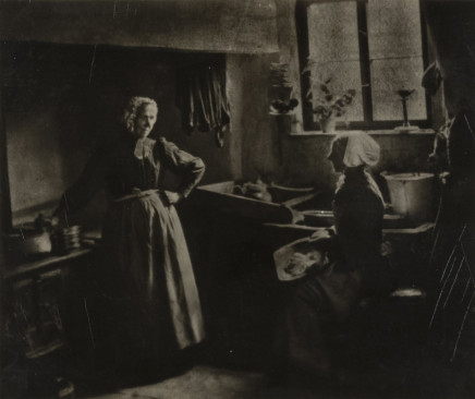 Minna Keene, Preparing Dinner, circa 1895