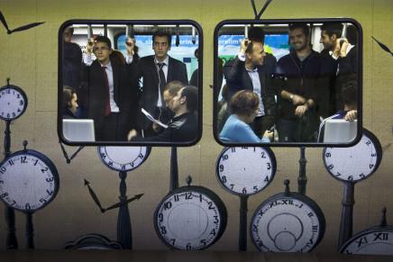 Bruno Barbey, Subway, Istanbul, Turkey, 2009
