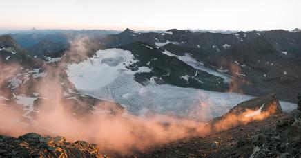 Scott Conarroe, Glacier Du Baounet, France, 2015