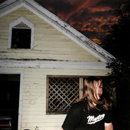 "Jaret Belliveau, Untitled [garage, sunset, and ""mystery"" t-shirt], 2005"