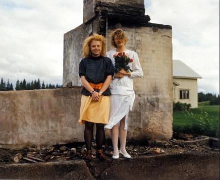 Pekka Turunen, Mia Purmonen ja Milja Juvonen, Vepsä Tohmajärvi [Ruins of a House], 1990