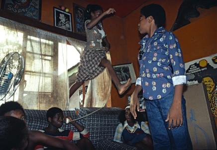 Bruno Barbey, Fela Kuti's house, Lagos, Nigeria, 1977