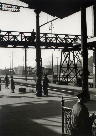 Herbert List, Travellers at a Station, Hamburg, Germany, 1930