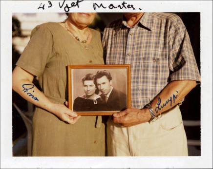 Jim Goldberg, Greece [43 years marriage], circa 2003