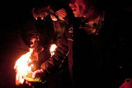 Larry Towell, Protestors & Molotovs. Kiev, Ukraine, February 2014