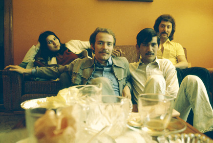 Sunil Gupta, Shalini, Rudi, Sunil, Léo, 3425 Stanley, circa 1974