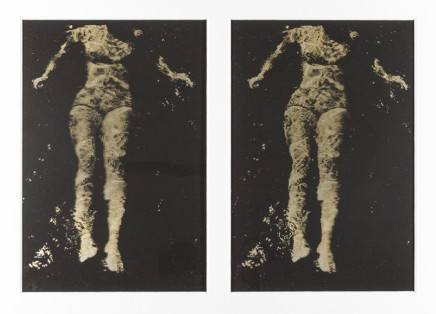 Phil Bergerson, Untitled (Diane in water), Toronto, Ontario, 1971