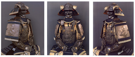 Claudia Fährenkemper, B 02-19-4, B 08-18-2, & B 07-18-2 Courtesy Samurai Art Museum–Collection Janssen, Berlin, Germany, 2018