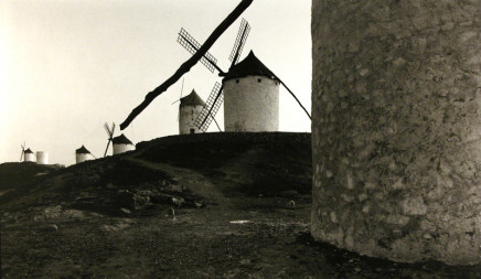 Dick Arentz, Windmills, Consuega, Spain, La Mancha, 1990