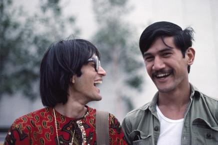 Sunil Gupta, Sunil with Fakroon, 1975