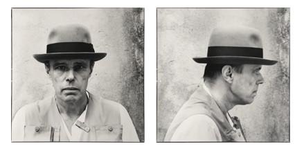 Arnaud Maggs, Joseph Beuys, Frontal and Profile Views, 1980