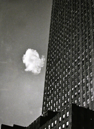 André Kertész, Lost Cloud, New York, 1937