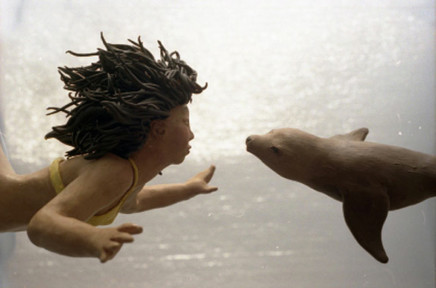 Sarah Anne Johnson, Girl and Sealion, 2005