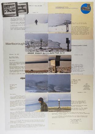 Robert Frank, Mailbox + Letters, Winter 1976