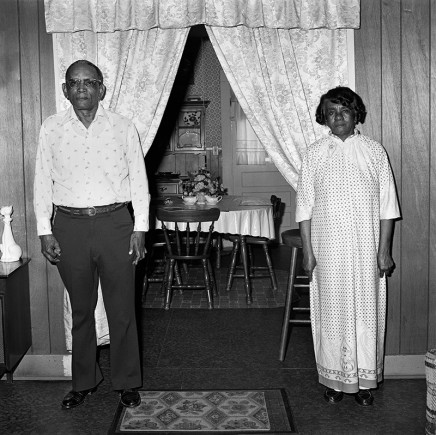 Rosalind Fox Solomon, Leland, Mississippi [Mr. and Mrs. Beck], 1977