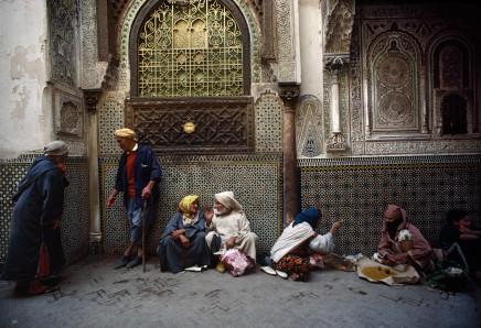 Bruno Barbey, Moulay Idriss' Zaouia, Fes, Morocco, 1984